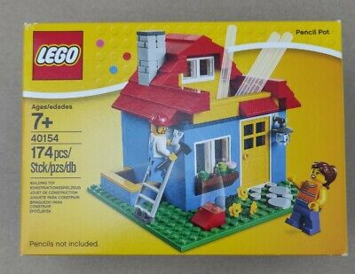 £37.85 • Buy LEGO Exclusive 40154 Iconic Pencil Pot/Desk Tidy/Pen Pot.New Retired .Great Gift