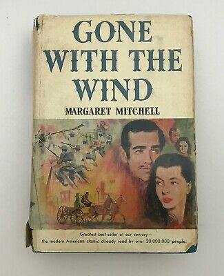 £25.24 • Buy Vintage Gone With The Wind By Margaret Mitchell (1936 Book Club 1st Edition)