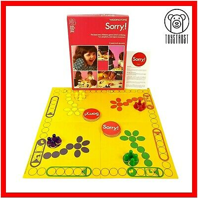 £22.99 • Buy Sorry Waddingtons Board Game Vintage 1970s Retro Family Game Made In England