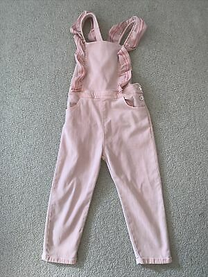 £10.50 • Buy Zara Girls Dungarees Pink 3-4 Years Excellent Condition