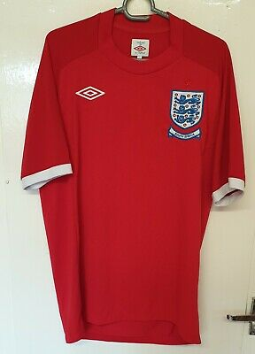 £24.99 • Buy UMBRO England Away Shirt SOUTH AFRICA WC 2010 Football Jersey SIZE 40 /M Adults