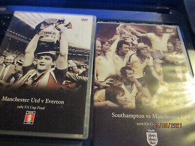 £11.99 • Buy FA Cup Final  DVDs X3 MANCHESTER UNITED