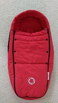 £14.99 • Buy Bugaboo Bee, 3, 5, 6 Baby Cocoon Footmuff In Red. Bassinet, Donkey, Cameleon