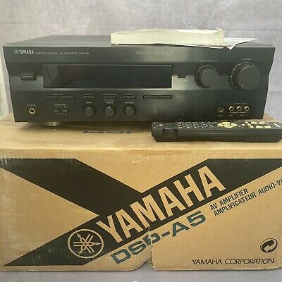 £89.99 • Buy Yamaha DSP-A5 Natural Sound AV Audio Video 180W Stereo Amp Silver
