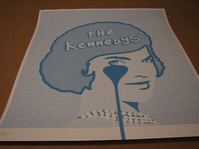 £90.76 • Buy Pure Evil The Kennedys Screen Print Poster  2018 Signed Numbered /100
