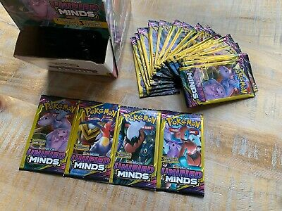 $2.36 • Buy Pokemon TCG SM11 Sun & Moon Unified Minds Mini Booster Pack - From Fresh Box!