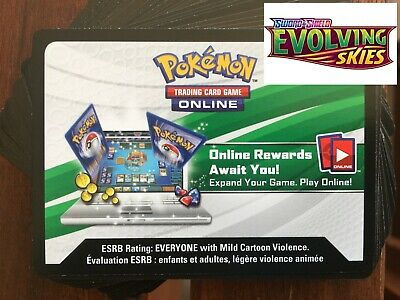 $13.04 • Buy Pokemon  TCG   Online Codes 36X  EVOLVING SKIES  (EMAILED) - IN HAND