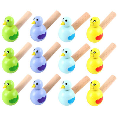 £10.06 • Buy 15pcs Wooden Bird Whistles Creative Funny Whistle For Teenagers Kid