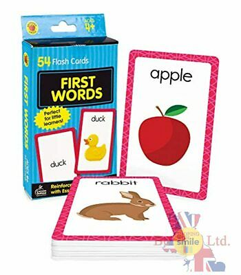 £4.13 • Buy First Words Brighter Child Development Flash Cards Set Baby Learning Kids Card