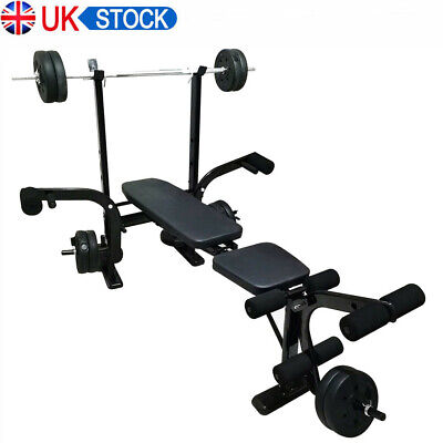 £29.99 • Buy Olympic Weight Bench Strength Training Lifting Press Gym Exercise Equipme