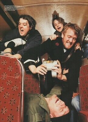 £3.99 • Buy Elbow - The Manchester Transport Museum 2001 - Full Size Magazine Advert