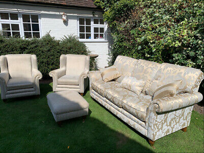 £350 • Buy Quality Parker Knoll 3 Seater Sofa And Chairs