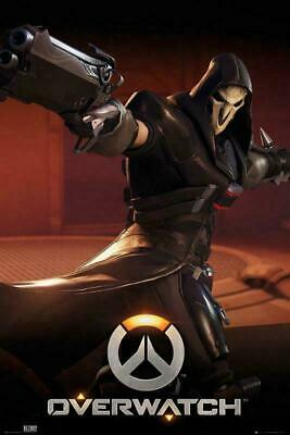 AU15.02 • Buy Overwatch : Reaper - Maxi Poster 61cm X 91.5cm New And Sealed