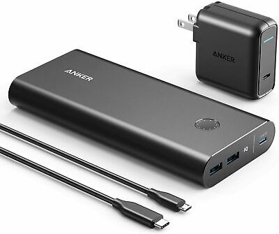 AU164.20 • Buy Anker PowerCore+ 26800mAh Power Bank +30W PD Charger For MacBook, IPad, Laptops