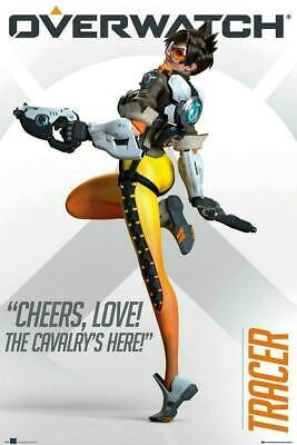 AU14.08 • Buy Overwatch : Tracer - Maxi Poster 61cm X 91.5cm New And Sealed