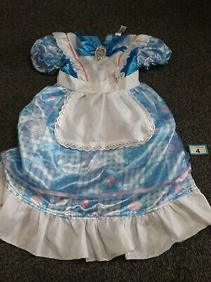 £7.99 • Buy Girls Alice In Wonderland Fancy Costume / Dress Up/ Role Play Age 7-8 Years (B4)