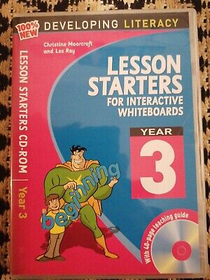 £5.99 • Buy 100% New Developing Literacy: Lesson Starters For Interactive Whiteboards. Year