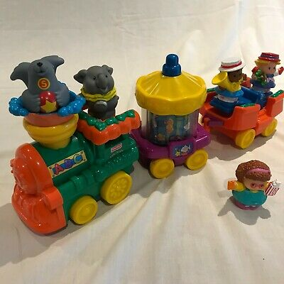£9.99 • Buy Fisher Price Plastic Toy - Circus ABC Train Set With Animals Figures