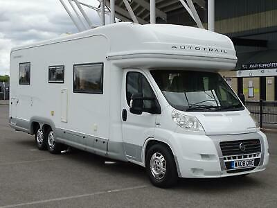 £36000 • Buy 2008 Fiat Ducato 840 Se Autotrail Cheyenne Motorhome 3.0 Tag Axle Only 16k Miles