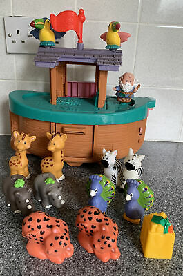 £12.50 • Buy Fisher Price Little People Noahs Ark + Animals And Noah