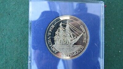 £14.99 • Buy Hms Victory / Admiral Lord Nelson Portsmouth England Souvenir Coin
