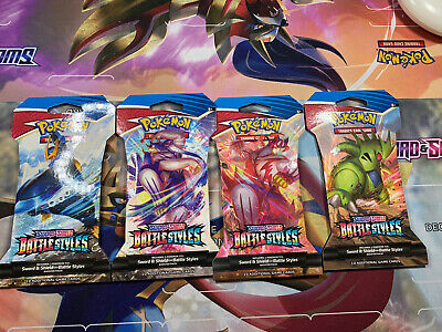 $4.35 • Buy 1x Pokemon Battle Styles Sleeved Booster Pack (Brand New And Factory Sealed)