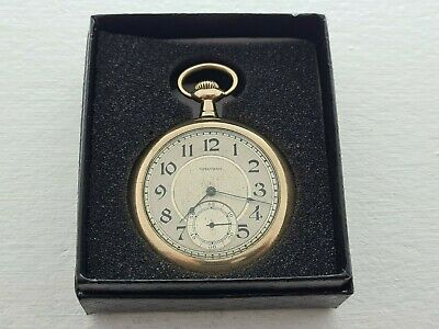 £175 • Buy Antique 1921 Waltham 15J  Gold Plated  Pocket Watch Working  Gift Box Rare