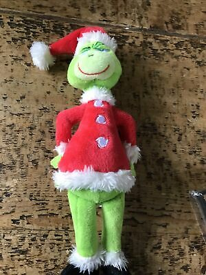 £3.20 • Buy Grinch Plush Doll How The Grinch Stole Stuffed Christmas Kids Toys Gift