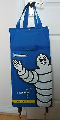 £39.95 • Buy Vintage MICHELIN Tyre Motor Show 2000 Media Centre Carry Bag Case On Wheels