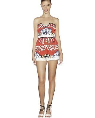 AU149.95 • Buy ALICE McCALL Sz 6 'Amber Absolute' Strapless Short Playsuit, Romper, Jumpsuit