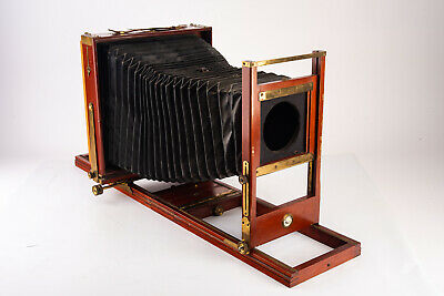 £483.23 • Buy Antique Century View No 1 8x10'' Camera With Double Grooved Bed & 4x5 Back V16