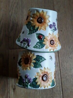 £6.99 • Buy Yankee Candle Sunflower Small Votive Holder And Shade