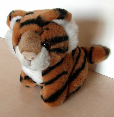 £2.75 • Buy Keel Simply Soft Collection Brown And Black Striped Dog, Looking Like A Tiger