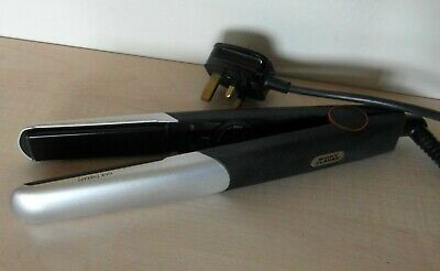 £9.99 • Buy Nicky Clarke Hair Therapy Hair Straighteners Black & Silver 100-240V  50W  230°C