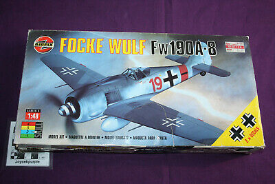 £12.50 • Buy Airfix Focke Wulf Fw 190A-8 1:48 Scale Model Kit Parts For Spares, Repair, Scrap