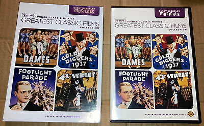 £9.45 • Buy TCM Greatest Classic Films Collection Busby Berkeley Musicals DVD DAMES 42nd St