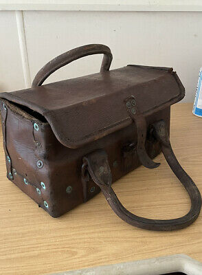 £50 • Buy Ww2 Leather Engineer's Tank Tool Bag Stamped 1940 W^d
