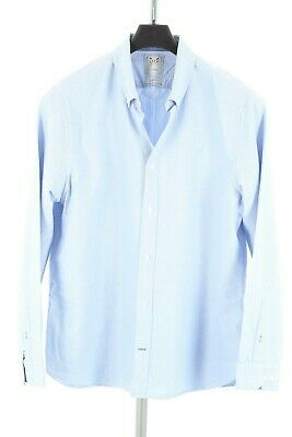 £10 • Buy Mens Crew Clothing Blue Oxford Shirt. Tailored Fit. XXL. In EXCELLENT CONDITION.