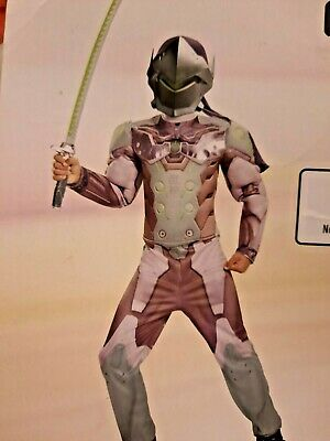 AU19.91 • Buy Overwatch GENJI Costume Cosplay Child Small 4-6 Disguise Dress-Up New