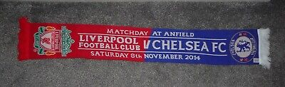 £1.99 • Buy LIVERPOOL F.C V CHELSEA F.C PREMIER LEAGUE MATCHDAY SCARF SATURDAY 08/11/2014