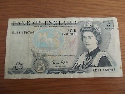 £5 • Buy Old English Five Pound Note Wellington