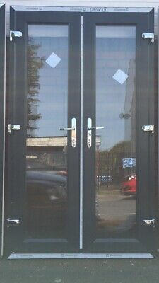 £650 • Buy New French Doors Anthracite Grey On White 1500 X 2100