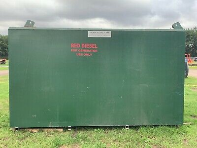 £1250 • Buy Nearly New Bunded 3000gallon Red Diesel Tank. Used Inside Only.