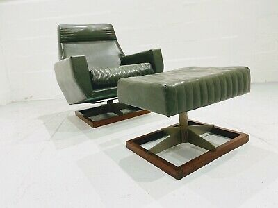£950 • Buy MidCentury Modern Vintage Retro Arm Chair With Footstool