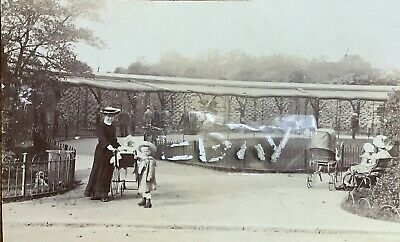 £18 • Buy The Aviary, Sefton Park, Liverpool. Real Photographic Postcard.