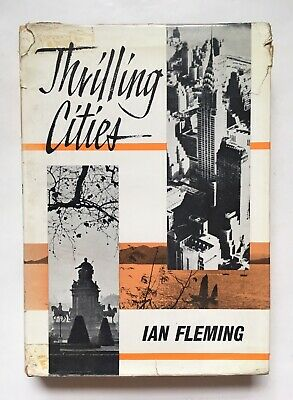 £20 • Buy Thrilling Cities By Ian Fleming 1964 Reprint Society 1st Edition Not James Bond