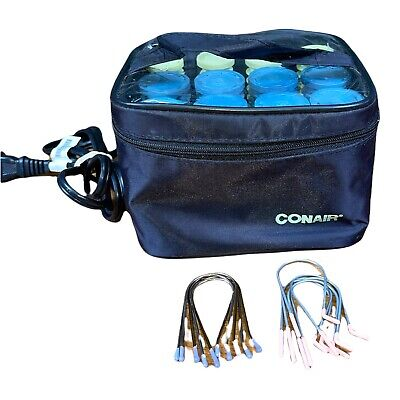 £6.54 • Buy Conair Instant Heat Travel Curlers Hairsetter 12 Rollers Clips Portable Mo HS28R