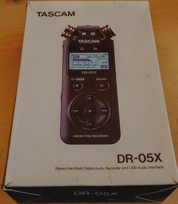 £51 • Buy Tascam DR-05X Stereo Handheld Digital Audio Recorder-Ex Condition