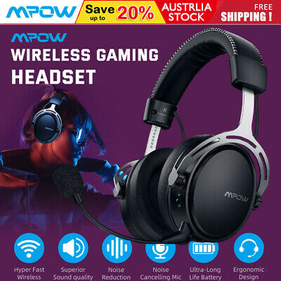 AU78.75 • Buy Mpow Air 2.4G Wireless Gaming Headset Headphones Surround For PC Mac PS4 Xbox AU
