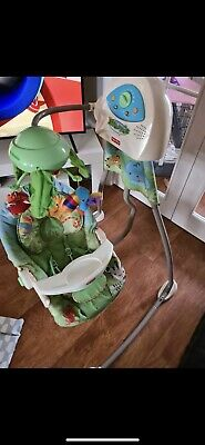 £45 • Buy Fisher Price Rain Forest Musical Baby Swing